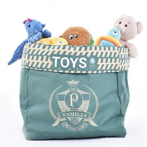 Caixa de Brinquedo Palmeiras Família