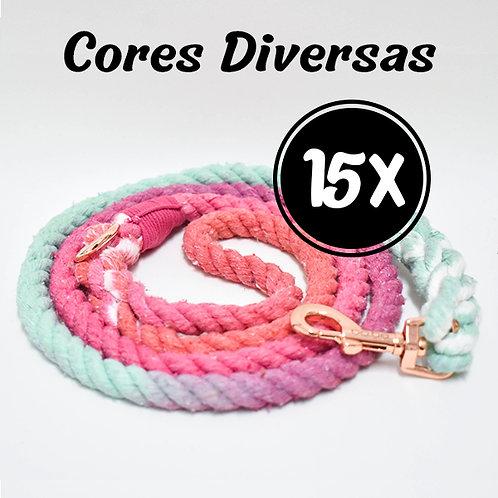 Kit 15 Guias - Cores Diversas