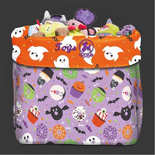 Caixa de Brinquedo Halloween Monstros