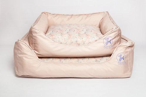 Cama Retangular Marble Pink