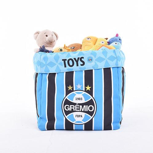 Caixa de Brinquedo Grêmio Escudo