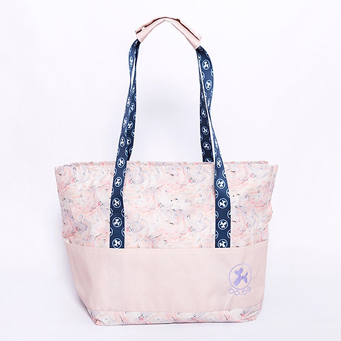 Walking Bag Marble Pink