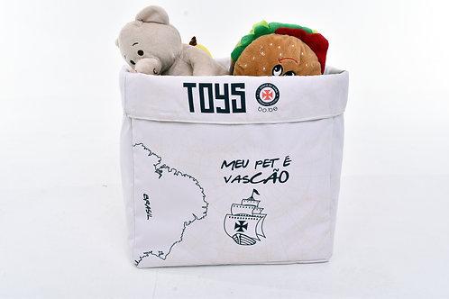 Caixa de Brinquedo Meu Pet é Vascão