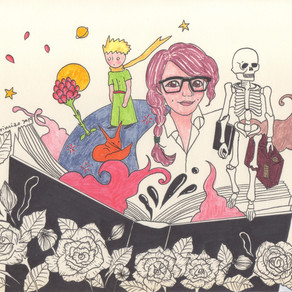 tong tong, le petit prince & skeleton