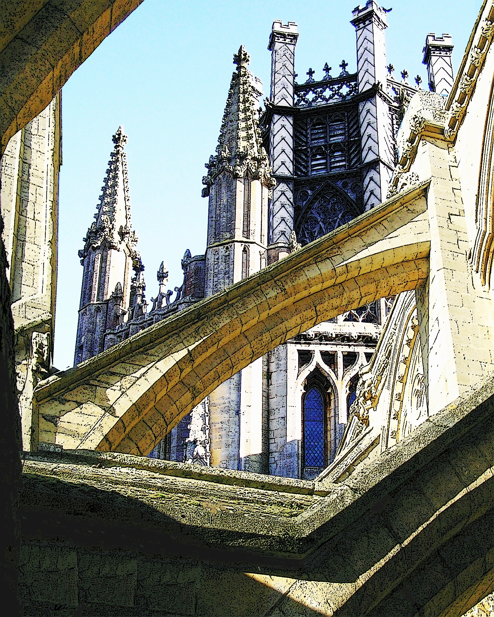 #21 Ely Octagon and Buttresses 1