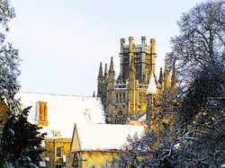 #2 Cathedral on a Snowy Afternoon