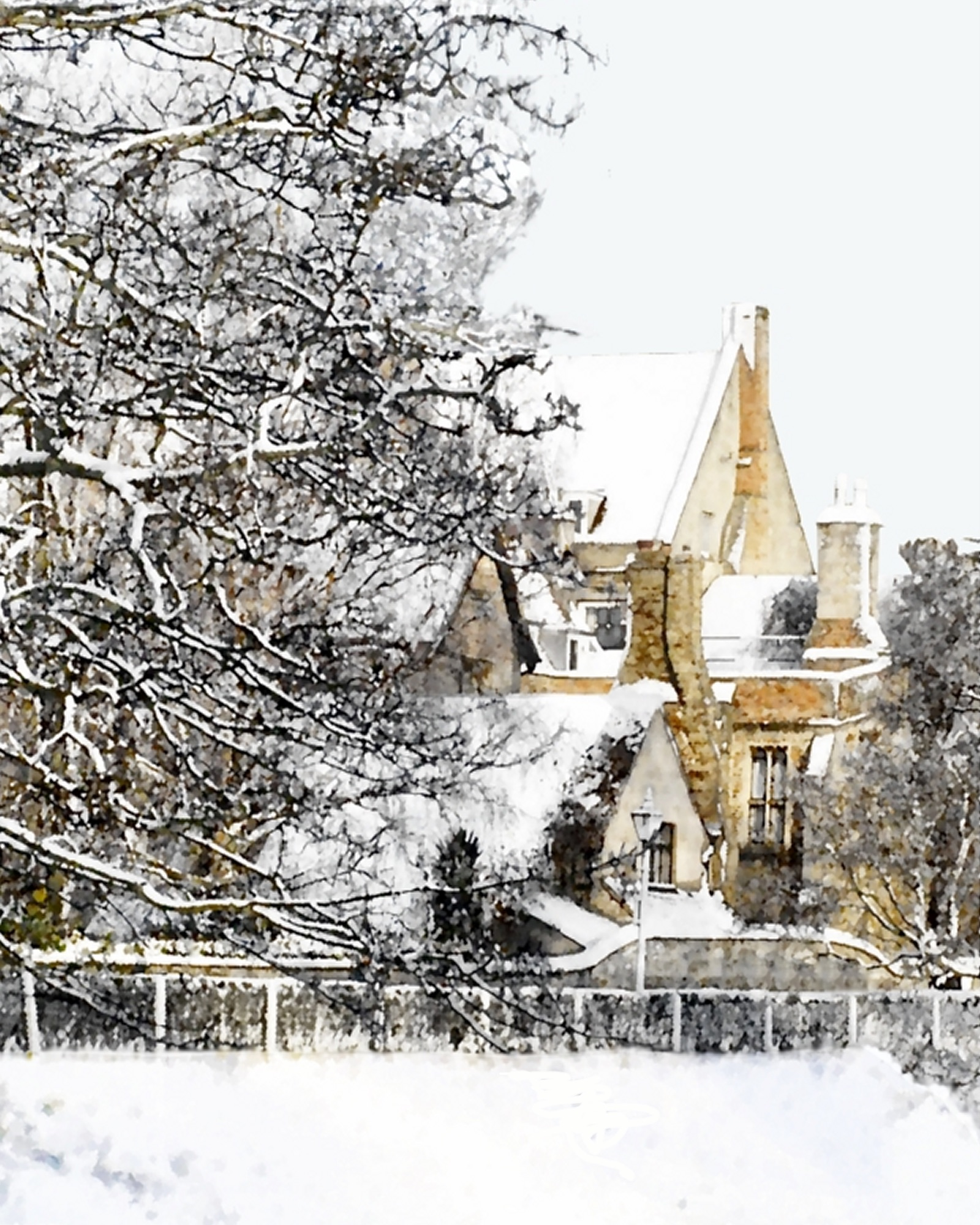 #3 Priory in Winter