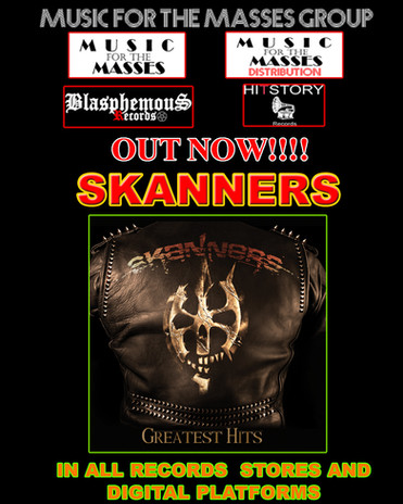 """OUT TODAY!!!!! SKANNERS """"Greatest Hits"""""""