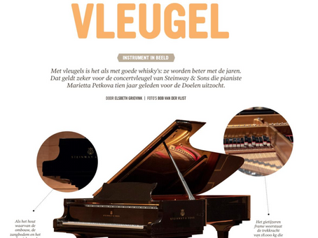 'The Grand Piano', from De Doelen Magazine
