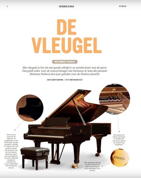 'The Grand Piano', from De Doelen Magazine