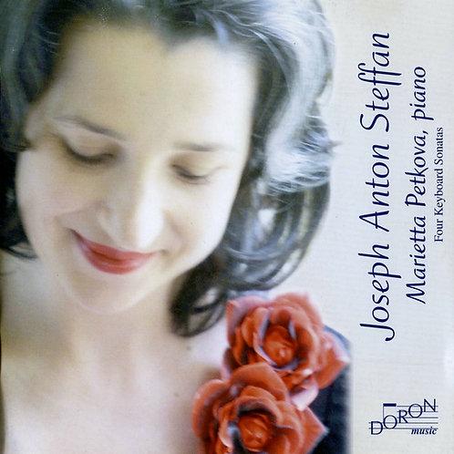 Marietta Petkova  'Joseph Anton Steffan - Four Keyboard Sonatas'