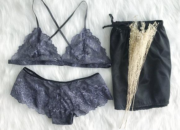 Kaylin Lace Bralette Set