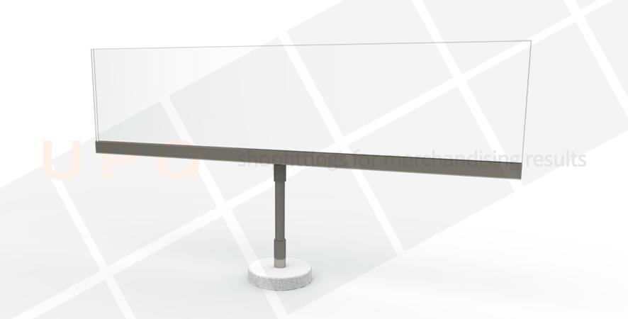 Gondola Category Sign Holder - Magnetic disc
