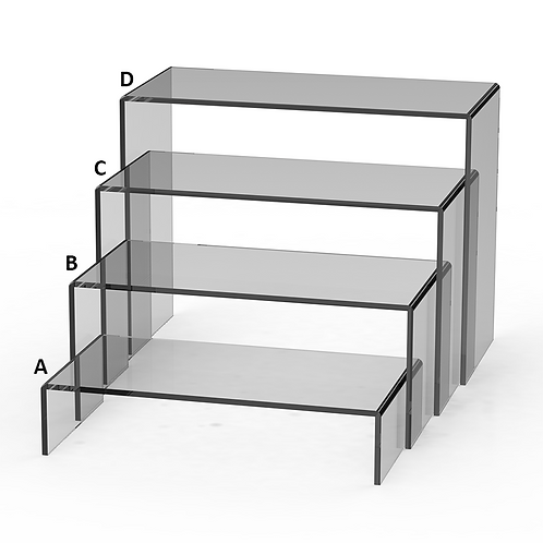 Rectangle Riser Display Set