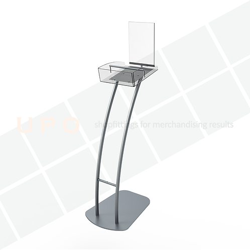 UPO Brochure Holder Floor Stand