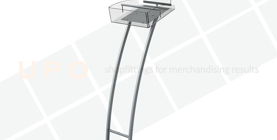 UPO Brochure Holder Floor Stand