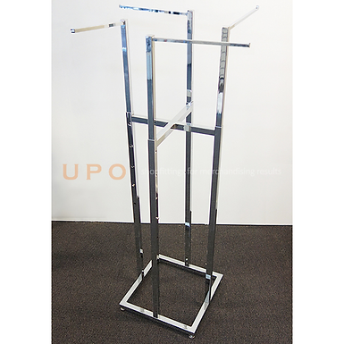Lingerie 4 Way Chrome Floor Stand
