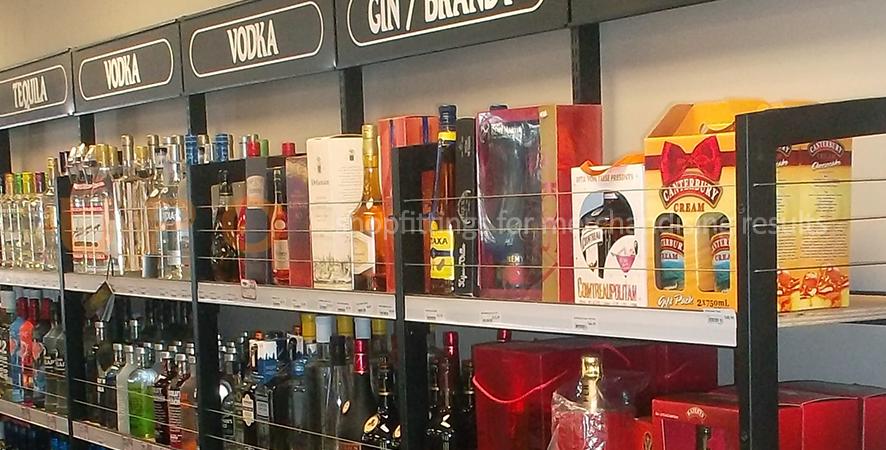 Wine and spirit shelving nz