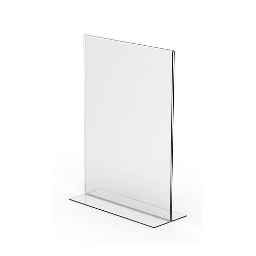 Acrylic Freestanding Upright Ticket Holder