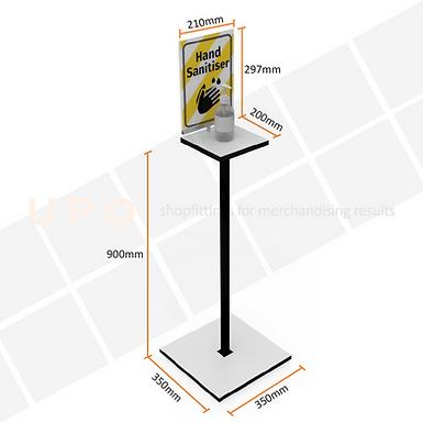 Pedestal Floor Stand for Hand Sanitiser
