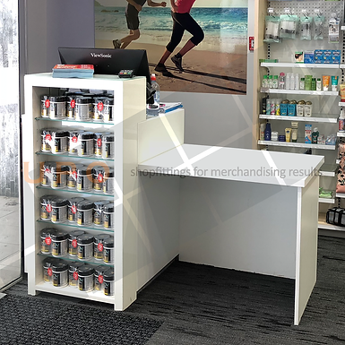 Standalone Retail Sales Counter
