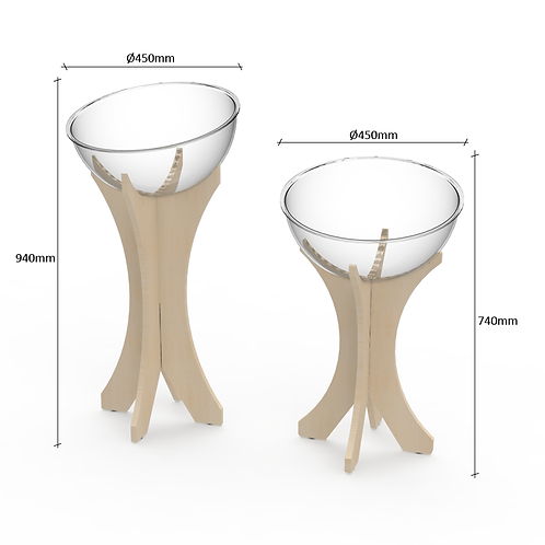 Joinery Impulse Bowl Stand