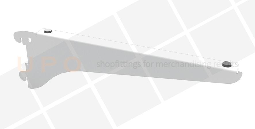 UPO Shelf Bracket for Glass Shelves - Pair