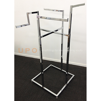 Adults 4 Way Chrome Floor Stand