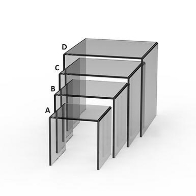 Square Riser Display Set