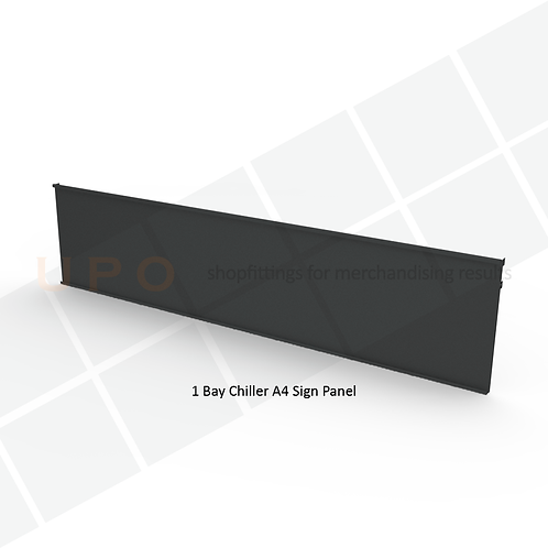 Clip-in Sign Panel 1325mm