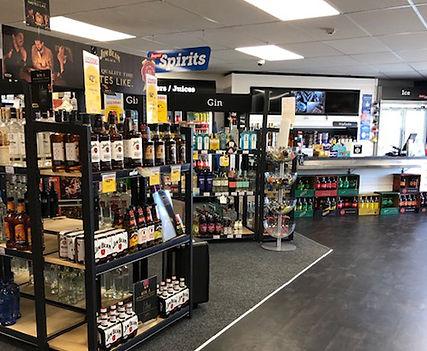 UPO Liquor Shelving