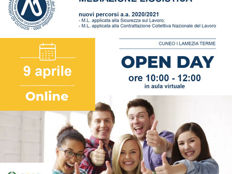 OPEN DAY SSML A.MACAGNO / 9 Aprile 2020