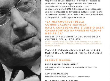 """PARTE IL """"TOUR DELLA CULTURA""""   della SSML A.MACAGNO"""