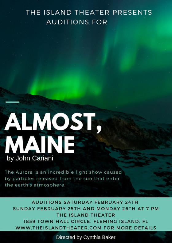 Auditions for Almost Maine