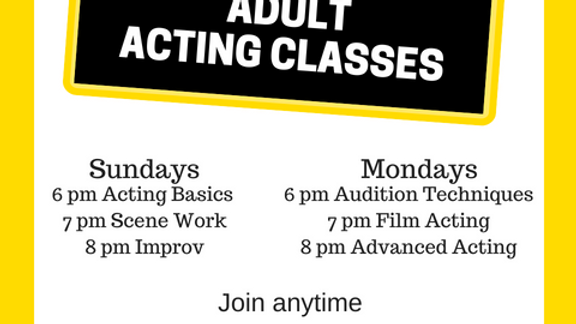 Advanced Acting Sep 24