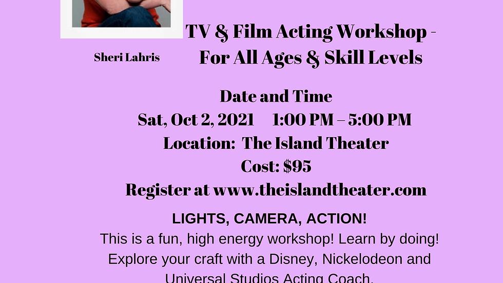 TV & Film Acting Workshop