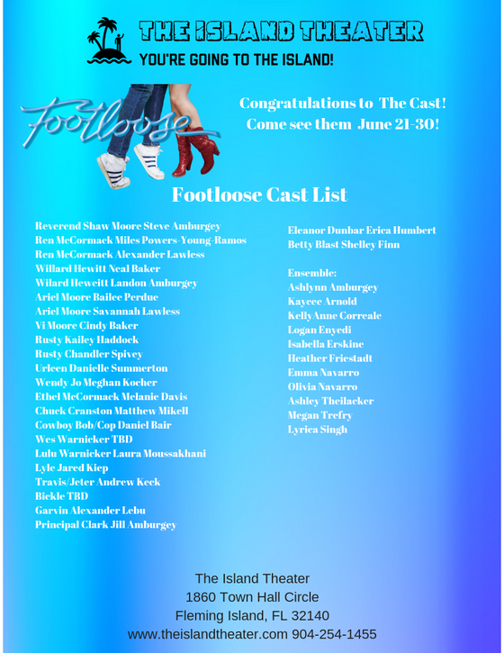 Announcing the Cast of Footloose!