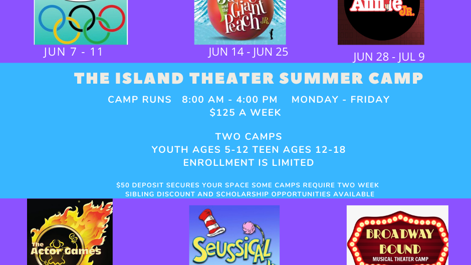 Broadway Bound Musical Theater Camp Aug 2-6 Deposit