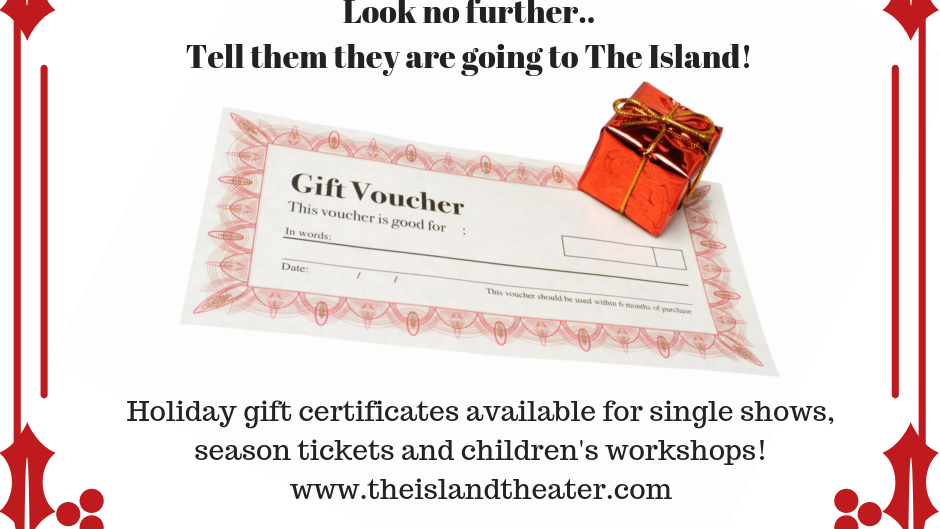 Show Gift Certificate for Adult Ticket