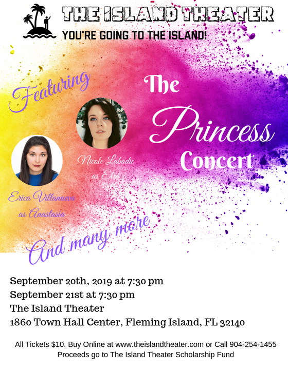 Princess Concert is coming this Friday and Saturday!