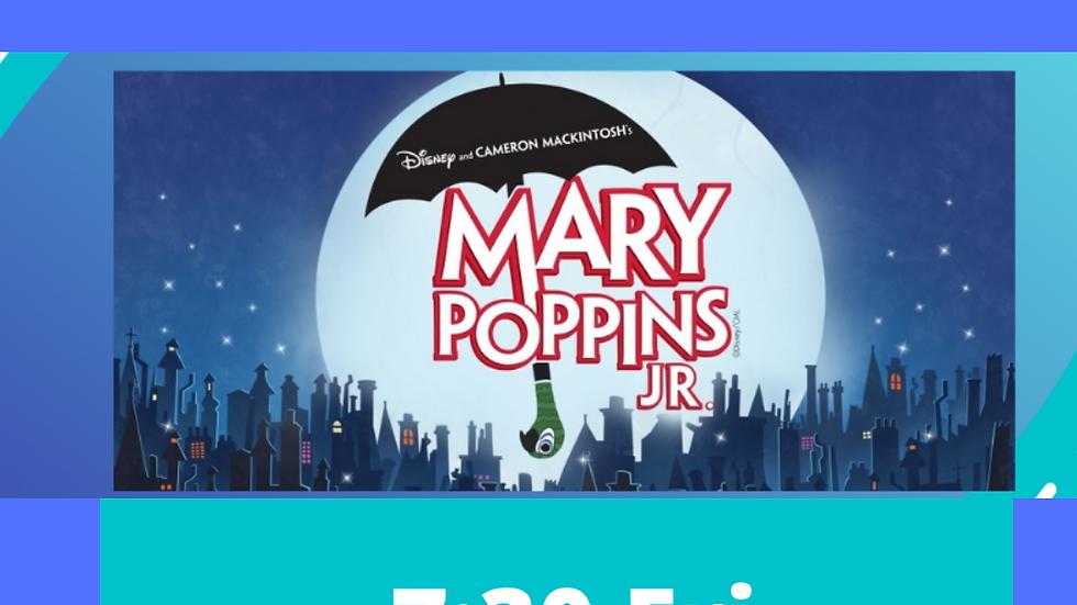 Mary Poppins Junior Teen Cast B 7:30 April 30