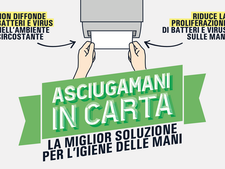 ASCIUGAMANI IN CARTA VS AD ARIA