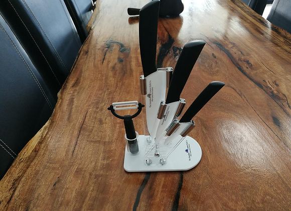 Knife Set And Stand/Block