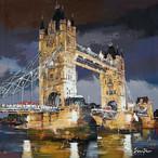 LONDON-TOWER BRIDGE 120 cm x 120 cm