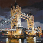 LONDON- TOWER  BRIDGE 120 cm x 120 cm