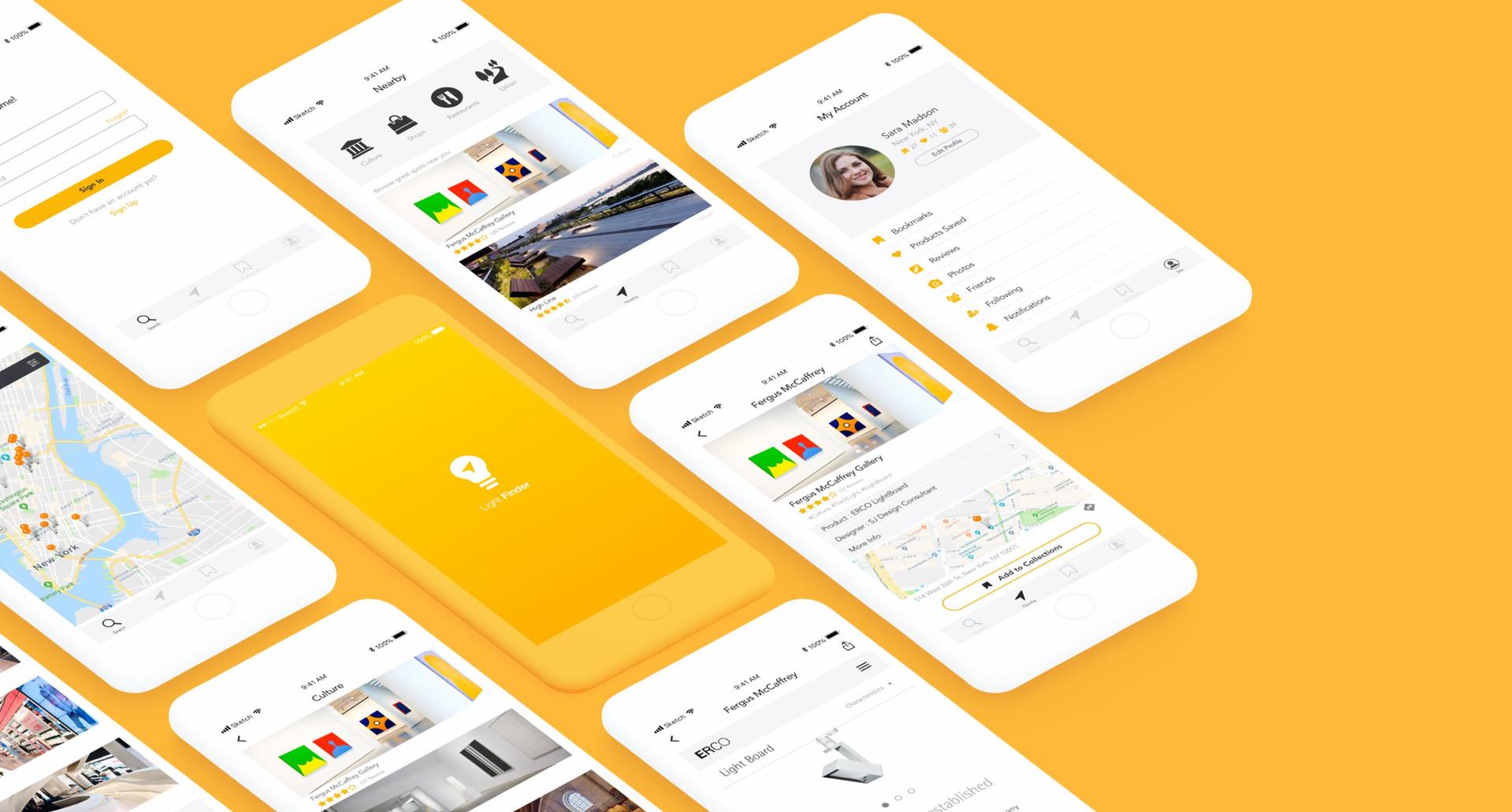 Light Finder - A Mobile App