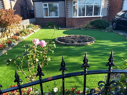 artificial grass garden