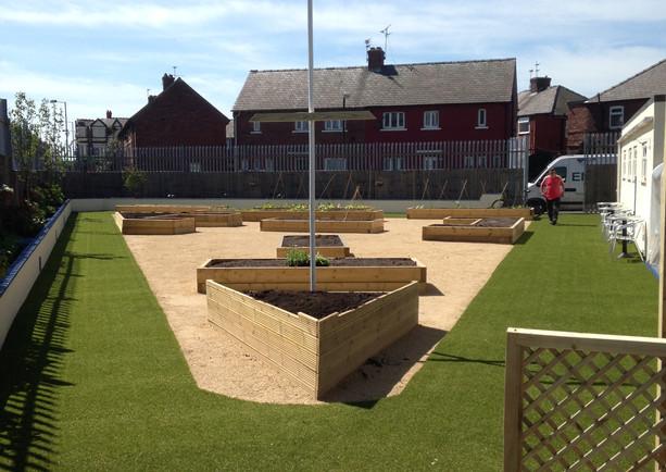 Liverpool Artificial grass 3