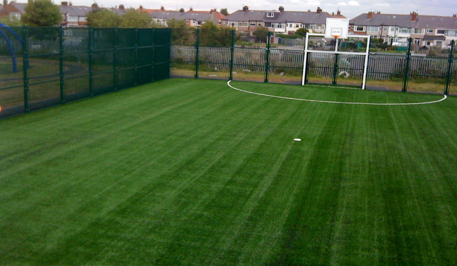 artificial grass MUGA 28.JPG