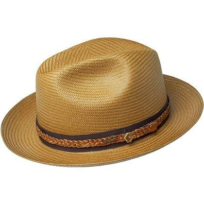 Bailey Hats - The Bevers Shantung Snap Brim